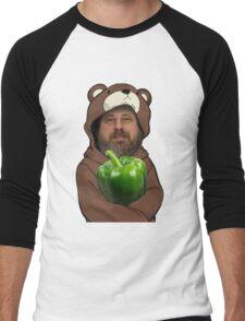 Richard Stallman GIMP Men's Baseball ¾ T-Shirt