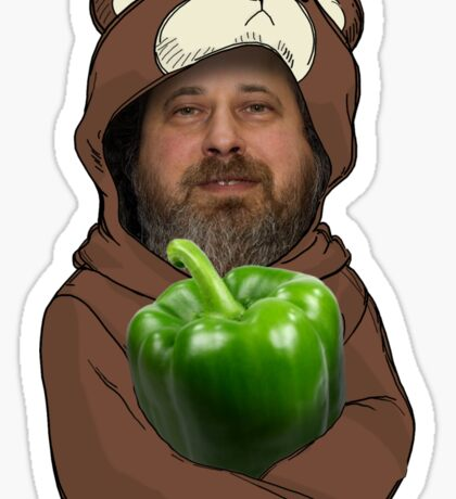 Richard Stallman GIMP Sticker