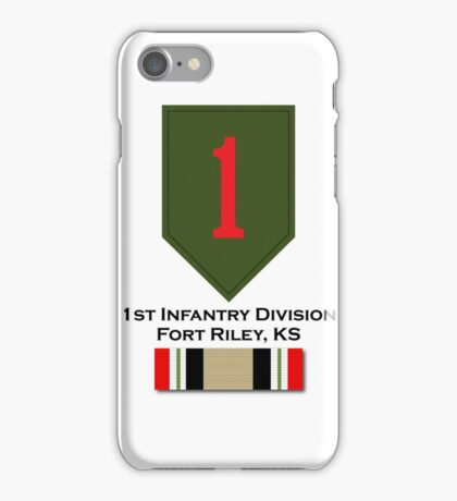 1st Infantry Iraq Campaign iPhone Case/Skin