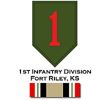 1st Infantry Iraq Campaign Photographic Print