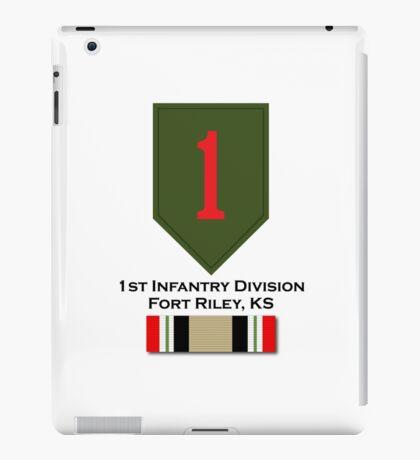 1st Infantry Iraq Campaign iPad Case/Skin