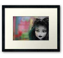 Colors Of A Doll Framed Print