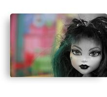 Colors Of A Doll Canvas Print