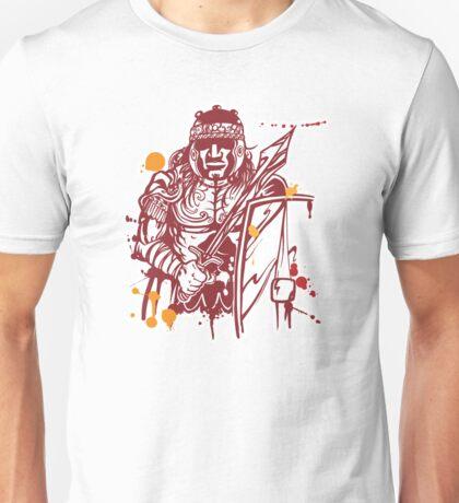 roman warrior hand draw Unisex T-Shirt