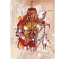 roman warrior hand draw Photographic Print