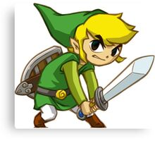 Link from Zelda Canvas Print