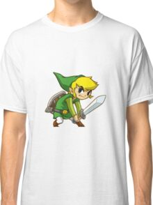 Link from Zelda Classic T-Shirt