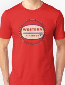 Western Airlines Vintage T-Shirt