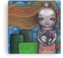 Video Game Princess Canvas Print