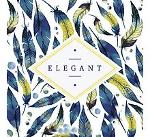 Elegant leaves Photographic Print