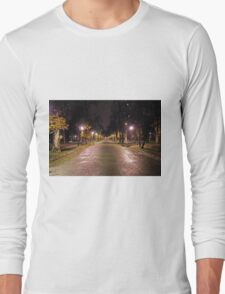 Late In The Night Long Sleeve T-Shirt