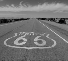 Route 66 by CliveHarris