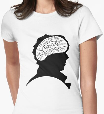 BORING!! Womens Fitted T-Shirt