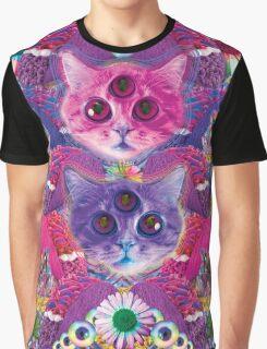 3rd eye tacocat Graphic T-Shirt