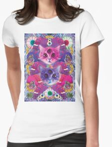 3rd eye tacocat Womens Fitted T-Shirt
