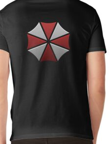 Umbrella Corporation Logo Mens V-Neck T-Shirt