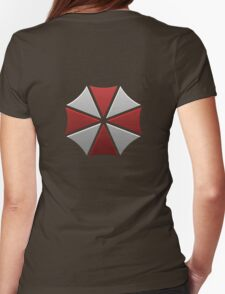 Umbrella Corporation Logo Womens Fitted T-Shirt