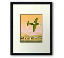 Fighter Plane Framed Print