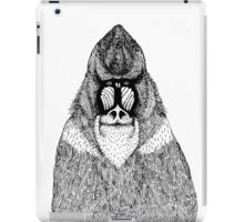 cute hand drawn monkey iPad Case/Skin