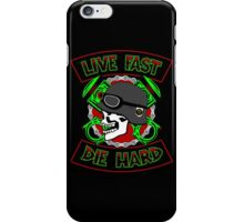 Live Fast Die Hard iPhone Case/Skin