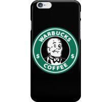 Warbucks Coffee iPhone Case/Skin