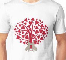 Love Frenchies, kissing French Bulldogs Unisex T-Shirt