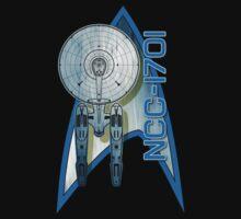 Star Trek NCC1701 by ZombieMonkey
