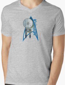 Star Trek NCC1701 Mens V-Neck T-Shirt