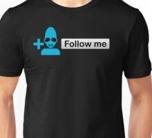 Follow Abe On Twitter Unisex T-Shirt