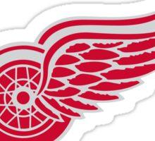 Red wings Detroit hockey sport Sticker