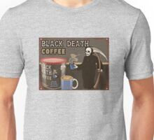 Black Death Coffee Unisex T-Shirt