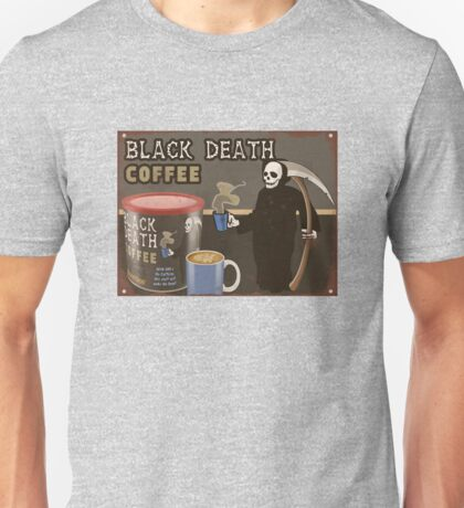 Black Death Coffee Unisex T-Shirt