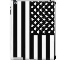 The black flag  iPad Case/Skin