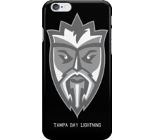 Tampa Lightning Grey King  iPhone Case/Skin