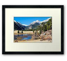 Upland Meadow Framed Print