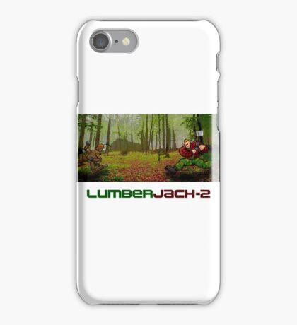LumberJack-2 iPhone Case/Skin