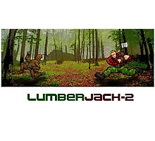 LumberJack-2 Photographic Print