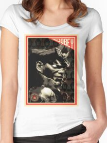 M. Bison Women's Fitted Scoop T-Shirt