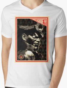M. Bison Mens V-Neck T-Shirt