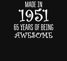 Made in 1951 - 65 Years of being Awesome Birthday Gift T-Shirt