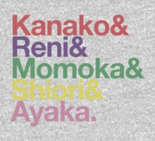 Momoclo goes Helvetica One Piece - Short Sleeve