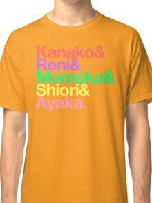 Momoclo goes Helvetica Classic T-Shirt