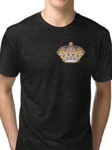 Kings Hockey Team Crown Tri-blend T-Shirt