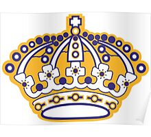 Kings Hockey Team Crown Poster