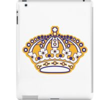 Kings Hockey Team Crown iPad Case/Skin