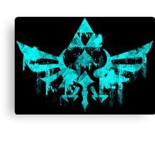 Skyward Symbol - Aqua Canvas Print