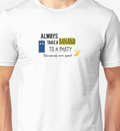 Doctor Who and bananas Unisex T-Shirt