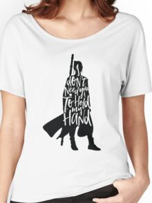 Don't Hold My Hand Women's Relaxed Fit T-Shirt