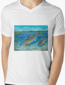 Redfish Creek Mens V-Neck T-Shirt