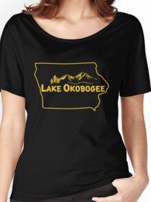 Lake Okobogee, Iowa Women's Relaxed Fit T-Shirt
